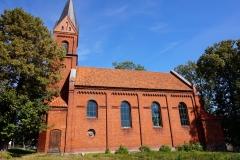 Kościół ewengelicki w Bisztynku (nieczynny, wymaga remontu)