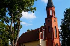 Kościół pw. Św.Marii Magdaleny. Wieś Pieszkowo, gm. Górowo Iławeckie, pow. bartoszycki