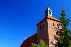 Kościół pw. Świętej Barbary we wsi Rogóż, pow. lidzbarski