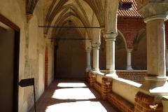 Krużganek lidzbarskiego zamku