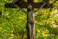 Krzyż przy drodze Barczewko - Biedowo