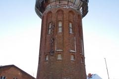Lidzbark Warmiński - wieża ciśnień przy ul. Szwoleżerów