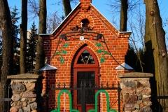 Lidzbark Warmiński. Kapliczka przy ulicy Polnej