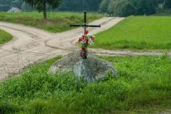 Miłogórze, krzyż