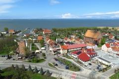 Panorama Fromborka - taras dolny, kier. pn.