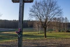 Podwójny krzyż w Brąswałdzie