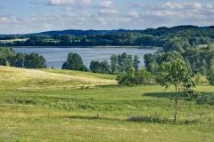Potryty, widok na jezioro Blanki