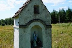 Przydrożna kapliczka, okolice wsi Międzylesie