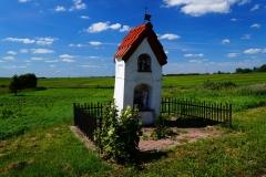 Przydrożna kapliczka, wieś Żardeniki