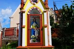 Przydrożna kapliczka, wieś Franknowo