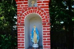 Przydrożna kapliczka, wieś Kikity