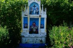 Przydrożna kapliczka, wieś Orzechowo