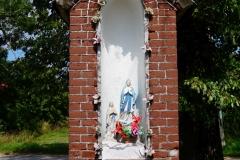 Przydrożna kapliczka, wieś Radostowo