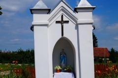 Przydrożna kapliczka, wies Radostowo