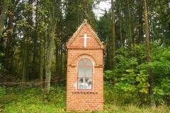 Przydrożna kapliczka, okolice Dobrego Miasta, przy DK51
