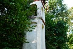 Przydrożna kapliczka, okolice wsi Wróblik