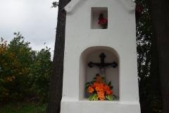 Przydrożna kapliczka, wieś Jesionowo