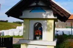 Przydrożna kapliczka, wieś Miłogórze