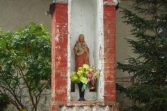 Przydrożna kapliczka, wieś Podleśna