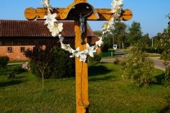 Przydrożny krzyż, wieś Łaniewo