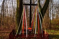 Przydrożny krzyż, wieś Jagoty