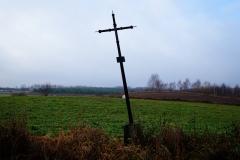 Przydrożny krzyż, wieś Stoczek