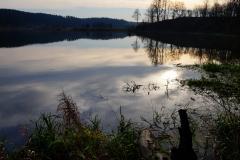 Rozlewisko Łyny, okolice wsi Koniewo