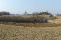 Rozlewisko koło wsi Trękus