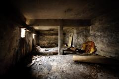 Rudka, opuszczony ośrodek wczasowy