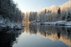 Rzeka Wadąg - widok w kier. zach.