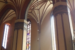 Słoneczne południe w Katedrze Fromborskiej