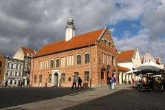 Stary Ratusz w Olsztynie, na pn-wsch