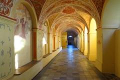 Stoczek Klasztorny, krużganek