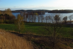 Widok na Jezioro Wulpińskie, kier. pn-zach.