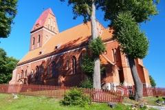 Wieś Kochanówka. Kościół p.w. św. Wawrzyńca