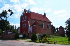 Wieś Międzylesie, Kościół p.w. Podwyższenia Krzyża Świętego