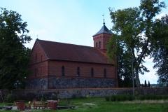 Wieś Prosity. Kościół pw. Wniebowzięcia Najświętszej Maryi Panny