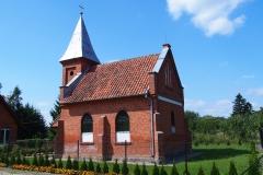 Wieś Studnica. Kościół pw. św. Stanisława