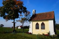 Wieś Łęgno, kaplica