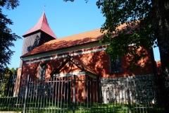 Wieś Blanki, pow. lidzbarski. Kościół pw. Św. Michała Archanioła