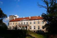 Wieś Nerwiki, gm. Górowo Iławeckie, pow. bartoszycki. Późnoklasycystyczny pałac z 1864 r.
