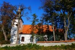 Wieś Wilczkowo, Kościół pw. św. Jana Chrzciciela