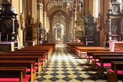 Wnętrze Katedry Fromborskiej