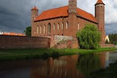 Zamek Biskupów Warmińskich w Lidzbarku Warmińskim, na pn-zach