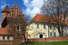 Zamek Kapituły Warmińskiej w Olsztynie, kier. pn-zach.