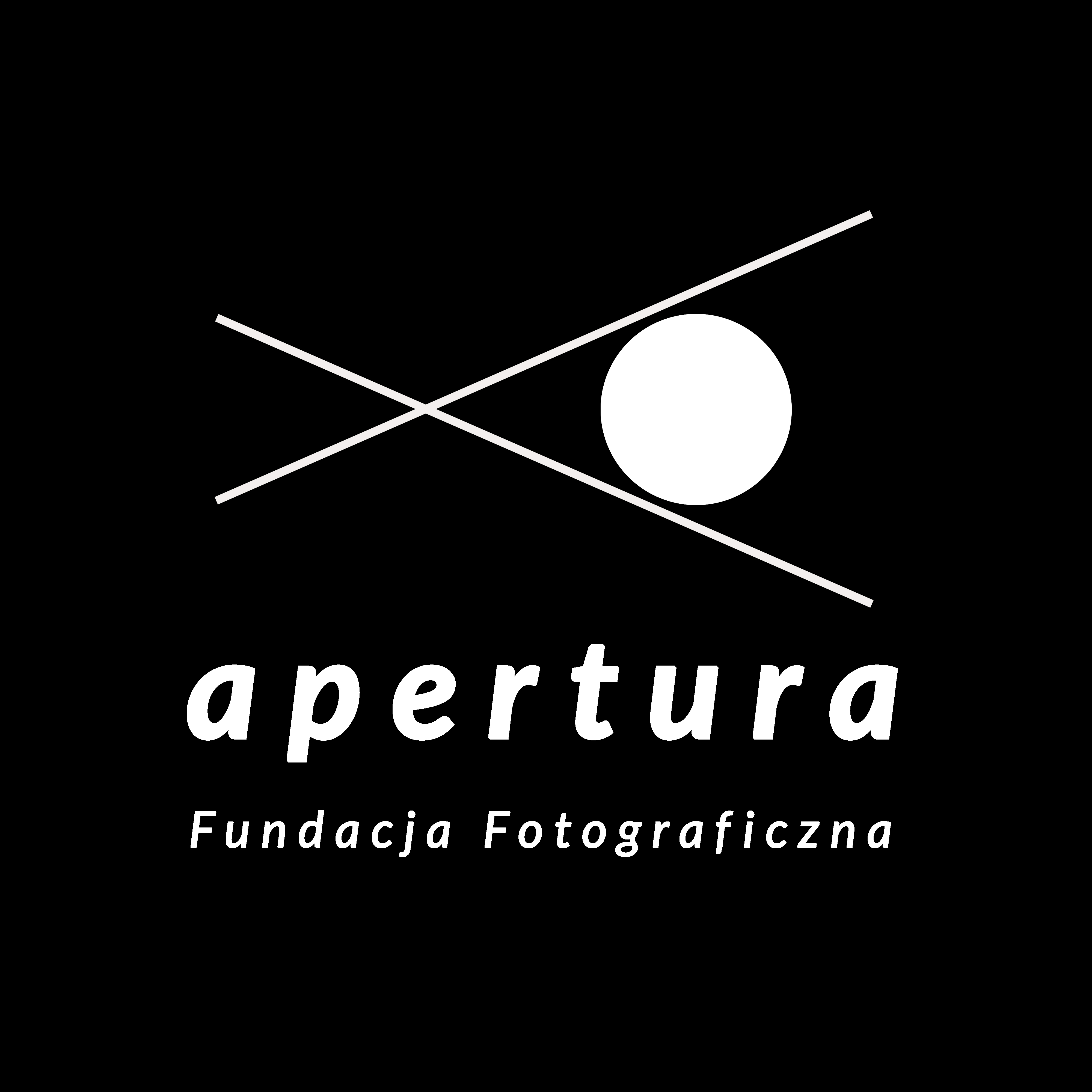 Logotyp Fundacja Fotograficzna Apertura - large black
